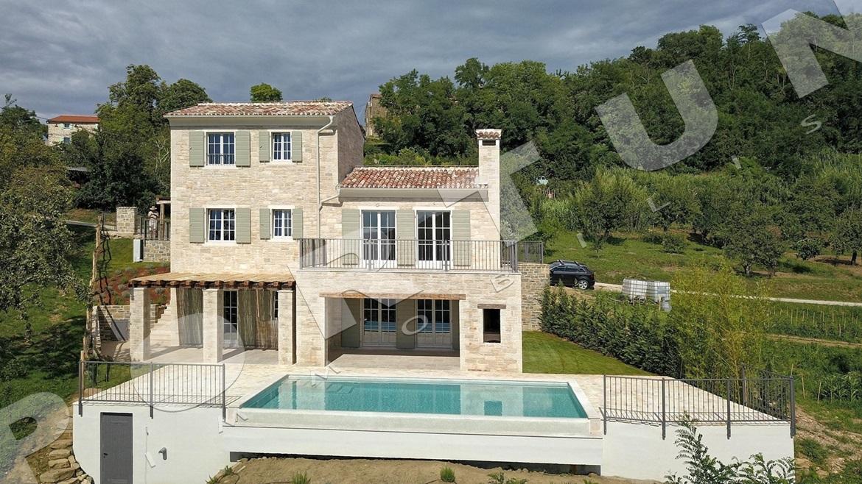 Luxus villa im zentrum von istrien mit einem fantastischen for Planimetrie di lusso
